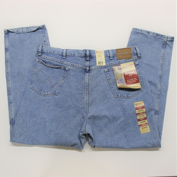 f9b0d0d5 Wrangler Jeans | Mens Relaxed Fit Blue 42x30 | Poshmark